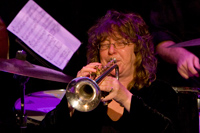 trumpet player Pam Fleming